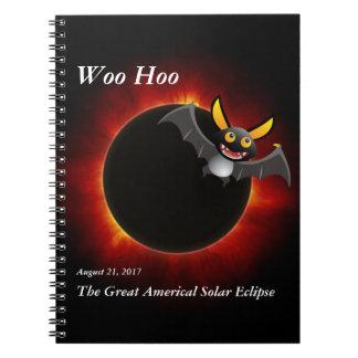 Cadernos Espiral 2017 eclipse solar, edição do vampiro