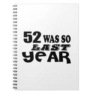 Cadernos Espiral 52 era assim tão no ano passado o design do