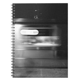 Cadernos Espiral 7 trem, NYC