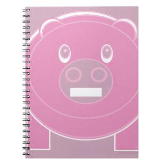 Cadernos Espiral A forma fez o porco