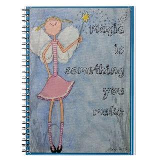 Cadernos Espiral A mágica é algo que você faz