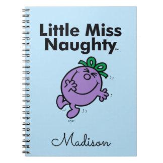 Cadernos Espiral A senhorita pequena pequena Impertinente da
