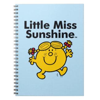 Cadernos Espiral A senhorita pequena pequena Luz do sol da