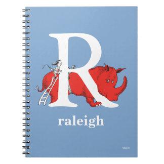 Cadernos Espiral ABC do Dr. Seuss: Letra R - O branco   adiciona