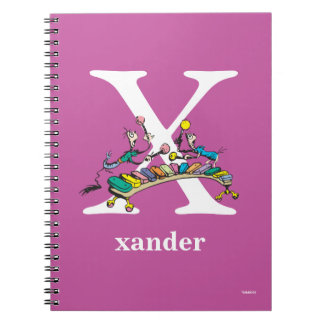 Cadernos Espiral ABC do Dr. Seuss: Letra X - O branco   adiciona
