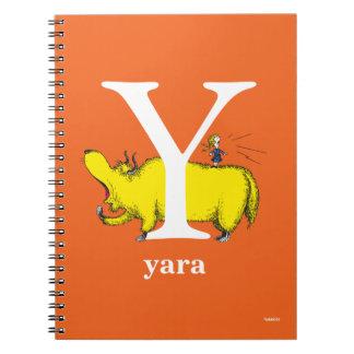 Cadernos Espiral ABC do Dr. Seuss: Letra Y - O branco   adiciona