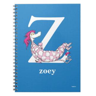 Cadernos Espiral ABC do Dr. Seuss: Letra Z - O branco   adiciona