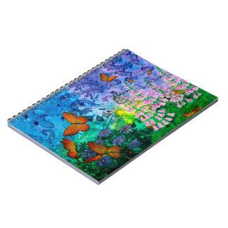 Cadernos Espiral Abrigo 6,5 x 8,75 do monarca