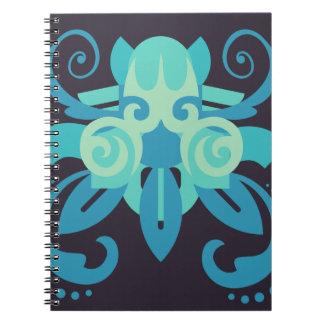 Cadernos Espiral Abstracção dois Poseidon