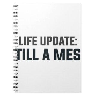 Cadernos Espiral Actualização da vida: Ainda uma confusão