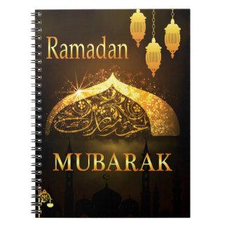 Cadernos Espiral Al Adha e Fiter de Ramadan