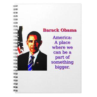 Cadernos Espiral América um lugar onde nós possamos estar - Barack