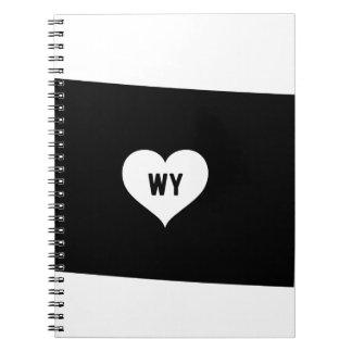 Cadernos Espiral Amor de Wyoming