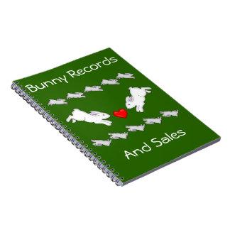 Cadernos Espiral Amor do coelho
