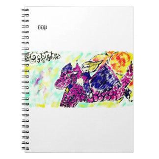 Cadernos Espiral arte 2 do dragão de vôo