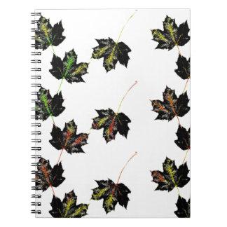 Cadernos Espiral Arte da folha