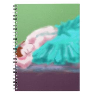 Cadernos Espiral Arte de descanso do balé
