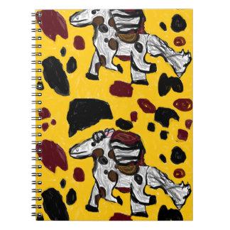 Cadernos Espiral arte dois do cavalo