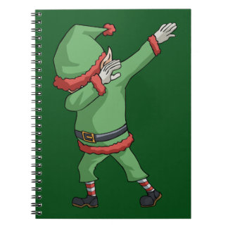 Cadernos Espiral Artigos engraçados do presente do Natal da