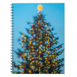 Cadernos Espiral Árvore de Natal