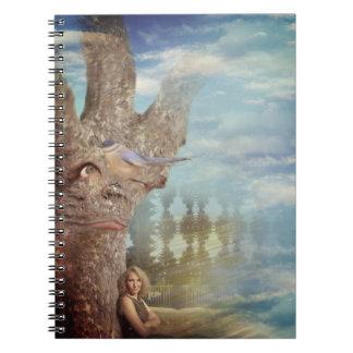 Cadernos Espiral Árvore mal-humorada