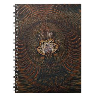 Cadernos Espiral Átomo psicadélico