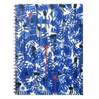 Cadernos Espiral Azul profundo