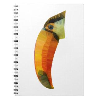 Cadernos Espiral Baixo Toucan poli