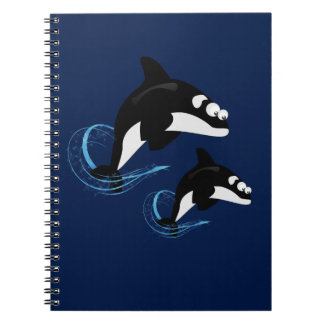 Cadernos Espiral baleias