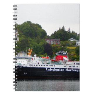 Cadernos Espiral Balsa, Oban, Scotland ocidental