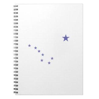 Cadernos Espiral Bandeira de Alaska