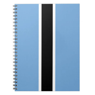 Cadernos Espiral Bandeira de Botswana