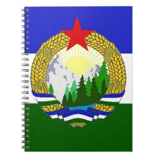 Cadernos Espiral Bandeira de Cascadia socialista