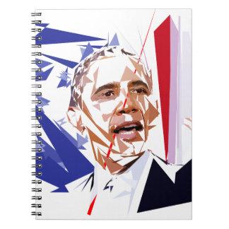 Cadernos Espiral Barack Obama