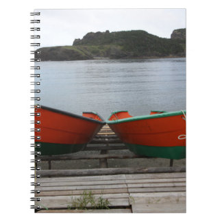 Cadernos Espiral Barcos bonito de Terra Nova