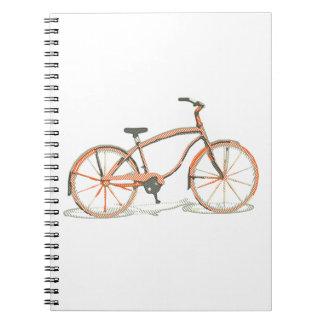 Cadernos Espiral Bicicleta bonito
