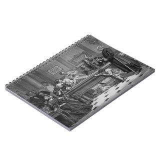 Cadernos Espiral Bilhar 1891 da família