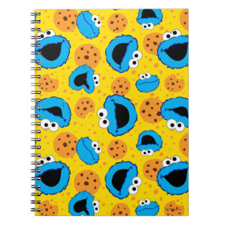 Cadernos Espiral Biscoito Monter e teste padrão dos biscoitos