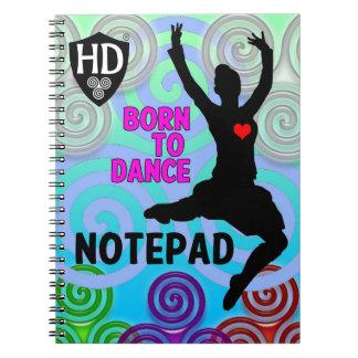 Cadernos Espiral Bloco de notas #2 do dançarino das montanhas