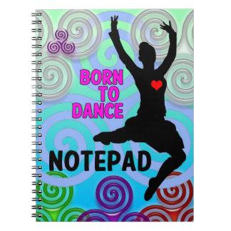 Cadernos Espiral Bloco de notas do dançarino das montanhas