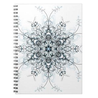 Cadernos Espiral Bluebells congelados