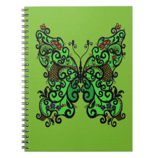 Cadernos Espiral Borboleta 1