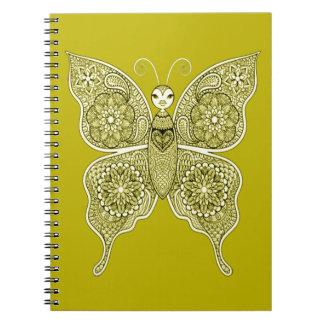 Cadernos Espiral Borboleta 4