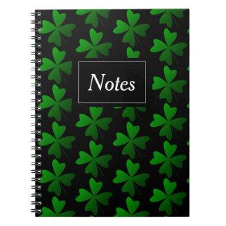 Cadernos Espiral Caderneta com foto Trevos