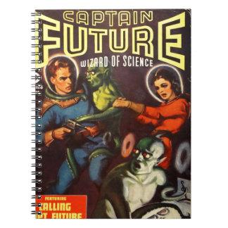 Cadernos Espiral Capitão Futuro e Doom. solar