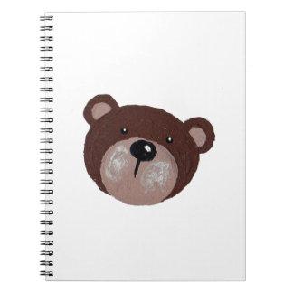 Cadernos Espiral Cara do urso
