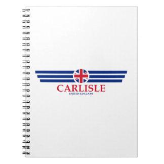 Cadernos Espiral Carlisle