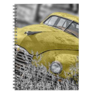 Cadernos Espiral Carro antigo