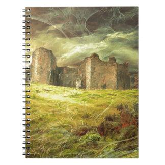 Cadernos Espiral Castelo de Carreg Cennen….