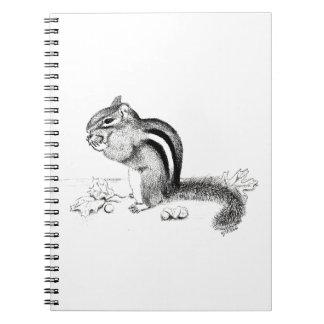 Cadernos Espiral Chipmunk
